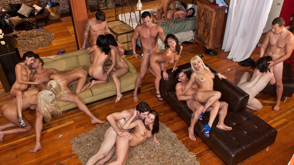 Innocent Gracie Glam - Manuel Ferrara's orgy
